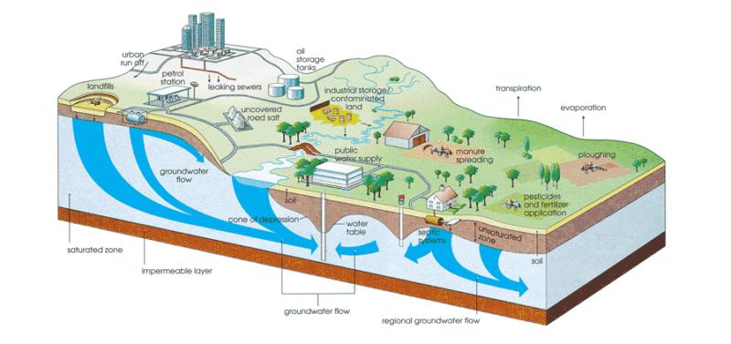 Da dove viene l'acqua che beviamo?