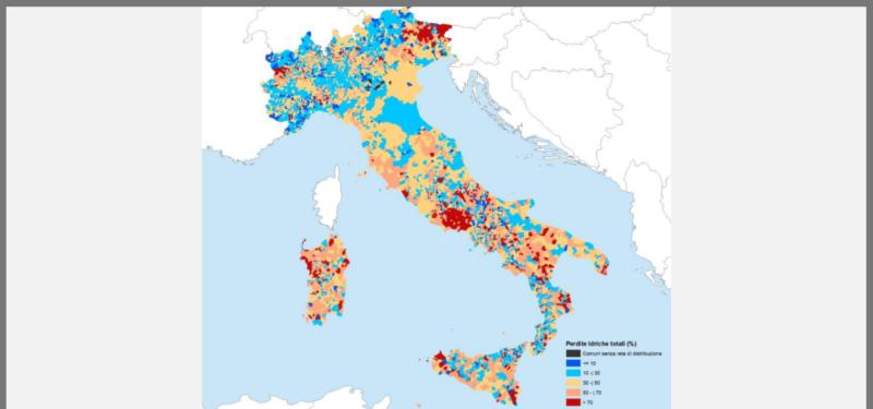 La rete di acquedotti italiani fa acqua da tutte le parti!