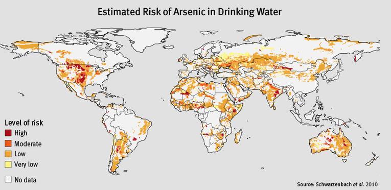 L'Arsenico nell'acqua potabile