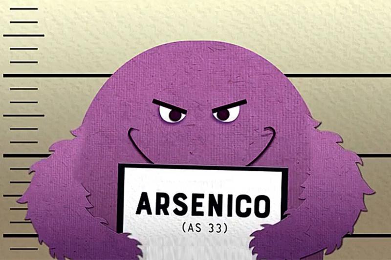 Arsenico nelle acque italiane